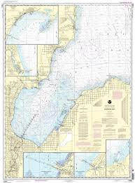 Nos 14863 Lake Huron Saginaw Bay Michigan