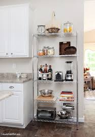 Glamorous Kitchen Wire Shelving Best Places To Use In The Home Store