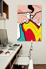 the secret life of superheroes wonder breasts by greg guillemin on wonder woman canvas wall art with an inside look into the lives of superheroes objects of desire