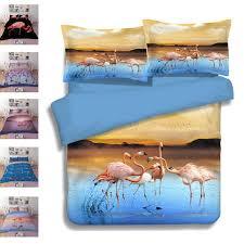 flamingos bedding set children s bed comforter duvet cover set bed cloth bedclothes cover bed linen bedding set queen size comforter sets
