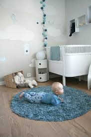 round rugs for baby nursery designs