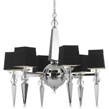 af lighting 8405 6 light chrome chandelier