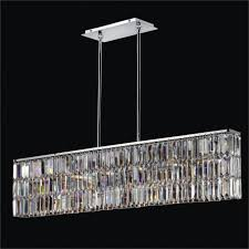 tips cozy linear crystal chandelier for your house idea koutsoftides com