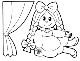 Small Picture Baby Doll Coloring Pages Free Printable And glumme