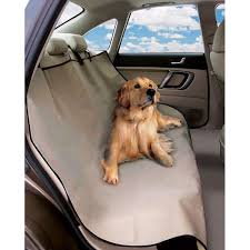 deluxe waterproof car rear seat pet cover back seat protector hammock boot liner