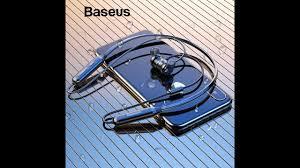 Обзор <b>Baseus</b> S15 <b>Active</b> Noise Cancelling Bluetooth - YouTube