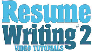 Resume Writing Tutorial Series Part 2 Creating A Targeted