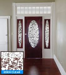 glass front doors privacy. apartmenttherapy eden clear2 265x300 how to cover windows in front doors decorative window film blog door. glass door privacy solutions