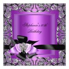 Black And Purple Invitations 479 Best Purple Black Birthday Party Invitations Images In