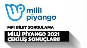 Milli Piyango MPİ 2021 çekiliş sonuçları: Milli Piyango 2021 yılbaşı bilet  no sorgulama