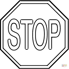 Small Picture Stop Sign coloring page Free Printable Coloring Pages