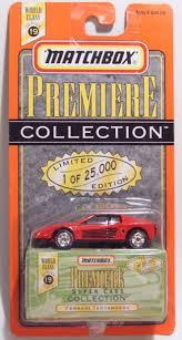 Ferrari Testarossa Harveys Matchbox