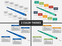 Power Point Time Line Template Tube Timeline