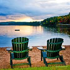 adirondack chairs on beach sunset. Exellent Chairs To Adirondack Chairs On Beach Sunset O