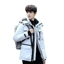 brand winter jacket men women children casual hooded canada jackets mens warm rac fur collar duck