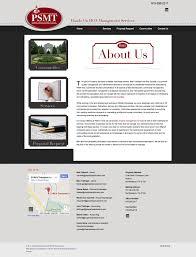 Web Design Murfreesboro Web Design Example A Page On Propertysolutionsmt Com Crayon