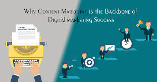 Content Marketing Strategy Why Content Marketing Is The Backbone Of Digital Marketing