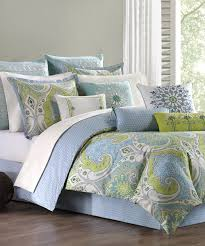 mediterranean comforter sets periwinkle green set zulily 17