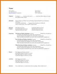 8 Resume Template Word Document Budget Reporting