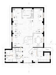 office lighting plan. The General Plan For Works, Showing Finishes, Reflected Ceiling/lighting And Heating. Office Lighting U