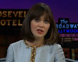 zooey deschanel accidentally joined a beauty pageant as a ogiggles