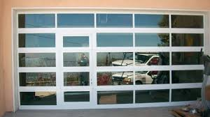 glass garage door dazzling commercial garage doors s full view glass garage frosted glass garage