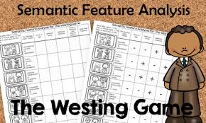 Semantic Feature Analysis A Teaching Strategy Book Units