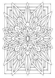 Kleurplaat Mandala Ster Afb 21906 Images