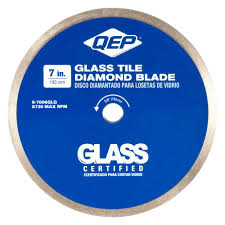 glass tile diamond blade for wet tile saws