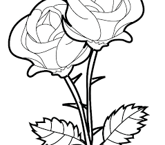 Coloring Pictures Of Hearts And Roses Coloring Pages Hearts And