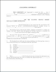 Commercial Cleaning Contract Template Commercial Cleaning Contract