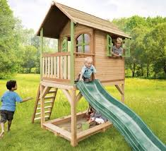 Spending time on a specially equipped playground is one of summer pleasures  for the children.