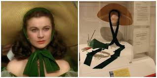 vivien leigh comet over hollywood the hast worn by vivien leigh in the barbecue scene in gone the wind