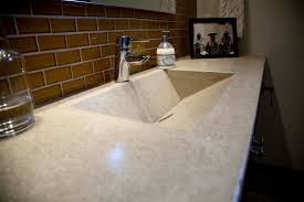 kitchen creative custom polished concrete countertop with for pertaining to countertops prepare 17