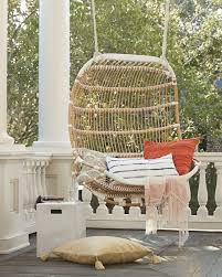 appealing a day for relaxing double hanging rattan chair pic outdoor basket inspiration and with ferns