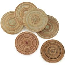 Exceptional Bamboo Drink Coasters