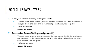 essay writing social studies ppt video online social essays types analysis essay writing assignment i