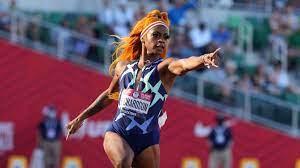 Sha'Carri Richardson racing Olympic ...