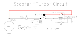 electric scooter performance options circuit diagram