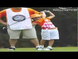 Brodie Mann hits the green - YouTube
