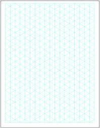 5 Free Isometric Graph Paper Printable Graph Paper