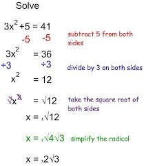 solve each equation taking square roots icon solve each equation taking square roots day 1 notes