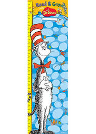 Dr Seuss Chart Dr Seuss Growth Chart Dr Seuss Kids Book Subscription