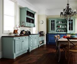 ... Impressive Ideas Paint Colors For Kitchen Cabinets Cabinet Blue And  Grey Near Table Dining Room ...