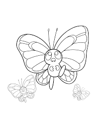 Beautiful Pokemon Coloring Pages For The