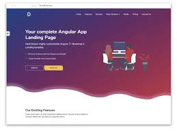 Bootstrap Landing Page Design 30 Best Bootstrap Landing Page Templates 2020 Themefisher