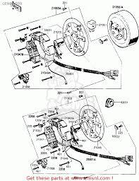 kawasaki generator wiring diagram kawasaki image kawasaki kh100g7 1986 usa generator schematic partsfiche on kawasaki generator wiring diagram