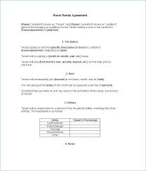 Sample Rental Agreement Letters Letter Tenancy Example – Katieburns