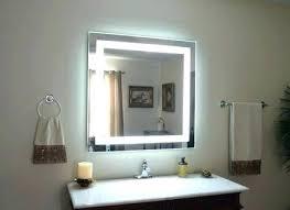 bathroom vanity mirror lights. Vanity With Lights Around Mirror Led For Bathroom  A
