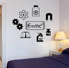 science bedroom decor vinyl wall art quote sticker school learning chemistry decals laboratory waterproof decorating ideas on vinyl wall art ideas with science bedroom decor vinyl wall art quote sticker school learning